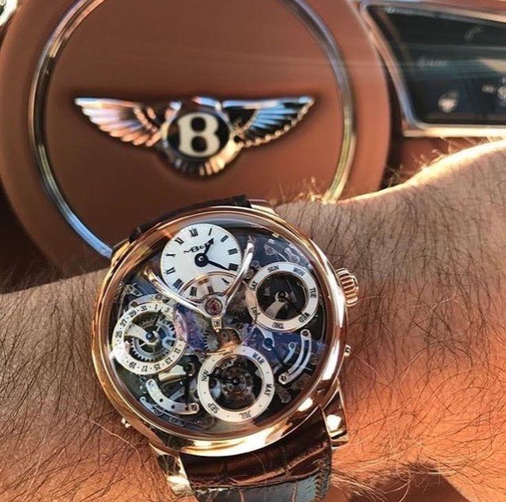Via @dappersdaily ⌚️ #worldsuniquedesigns #loveit #design #stylish #man #mansworld #manstyle #mansfashion #mansstyle #watch #watchaddict #bentley #brand #brands #luxurylife #luxury #lifestyle #likepost #likelikelike