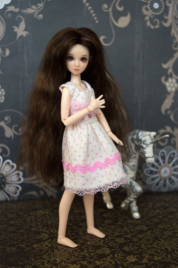 Beautiful OOAK Obitsu Elf Fairy doll in by GreyfauxxCollection