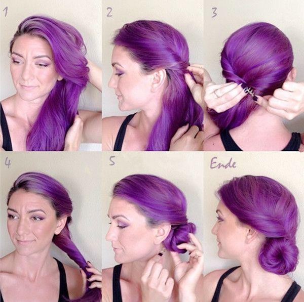 lilac hair tutorial