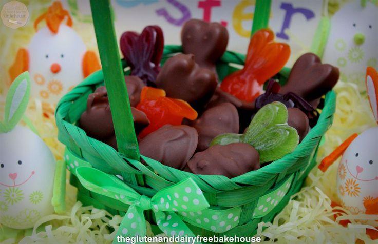 Chocolate Gummy Easter Treats