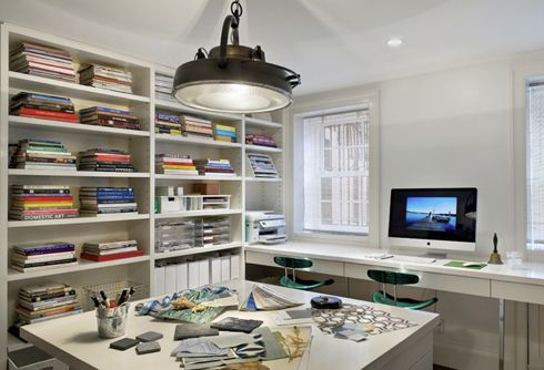 MadeByGirlOffices Work, Open Shelves, Cwb Architects, Offices Spaces, Crafts Room, Work Spaces, Workspaces, Home Offices, Design Offices