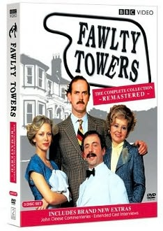 need a laugh....FAULTY TOWERS delivers!!