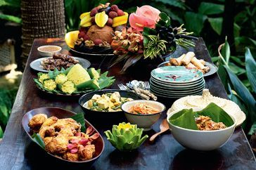 Balinese banquet - recipes - This month, invite friends over for a lavish Balinese feast with our menu of traditional dishes that are full of flavour.