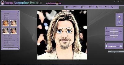 Cartoonize.net - Cartoon you in one click