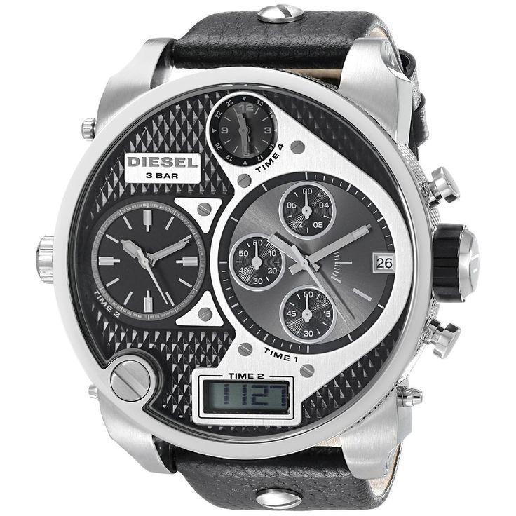 Diesel Men's DZ7125 Time Zone Watch   Overstock.com Shopping - Big Discounts on Diesel Men's Diesel Watches