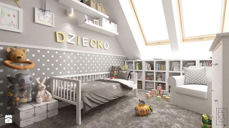 PORTFOLIO - Średni pokój dziecka dla chłopca dla dziewczynki dla malucha, styl klasyczny - zdjęcie od PEKA STUDIO