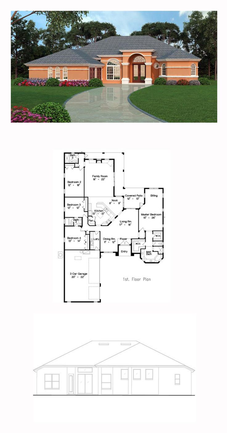 49 Best Images About Tuscan House Plans On Pinterest