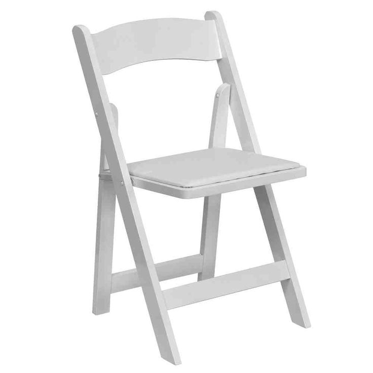 25 best white folding chairs images on pinterest   folding chairs
