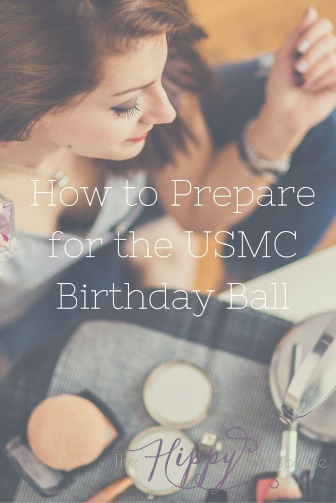 Great tips to help you prepare for the upcoming Marine Corps Birthday Ball! Don't wait until the last minute!
