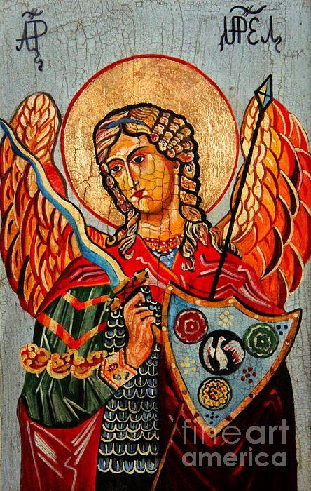 Archangel Uriel by artist Raszard Sleczka