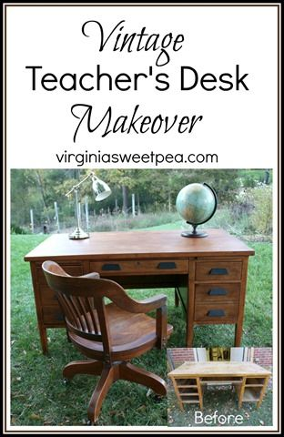 makeover furniture ideas. vintage teacheru0027s desk makeover makeoverfurniture ideasteacher furniture ideas
