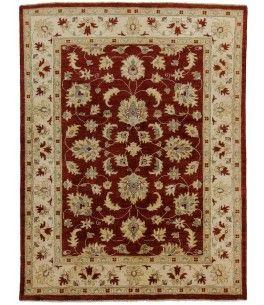 Ziegler Teppich  Dieser schöne Ziegler Teppich 00010169 stammt aus Pakistan und hat die Farbe Braun. Der Teppich ist aus hochwertigem Material Handgesponnene Wolle gefertigt und ist 149x199 cm groß, was einer Fläche von 2.97 m² entspricht. Dieser Ziegler Teppich besticht durch eine aufwendige Fertigung und einer Florhöhe von ca. 8 mm.   Verarbeitung: Handgeknüpft