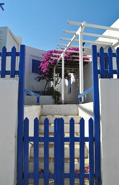 Blue and white, the colours of Greece