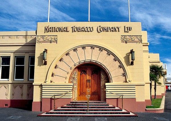 Rothman's Building, Napier, New Zealand