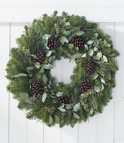 Woodland Winter Wreath | Free Shipping at L.L.Bean