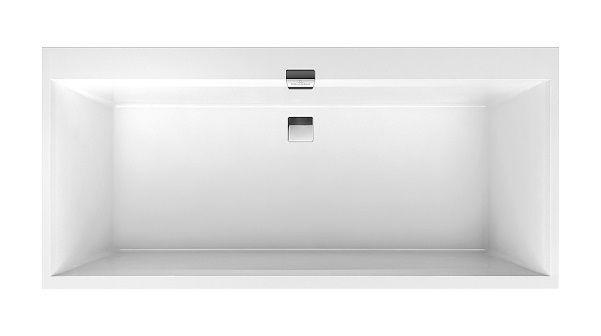 Baignoire Rectangulaire Villeroy Et Boch Quaryl Squaro Edge 12 Duo Ubq160sqe2dv 1600x750mm Incl Ensemble De Vidange Et Trop Plein Incl Pieds De Filing Cabinet Storage Home Decor