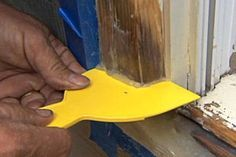 TOH general contractor Tom Silva shows how to fix rotted wood with epoxy. | thisoldhouse.com