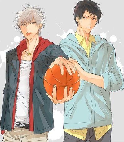 Kuroko's Basketball (Kuroko no Basuke) - Shuuzou Nijimura x Shougo Haizaki - NijiHai
