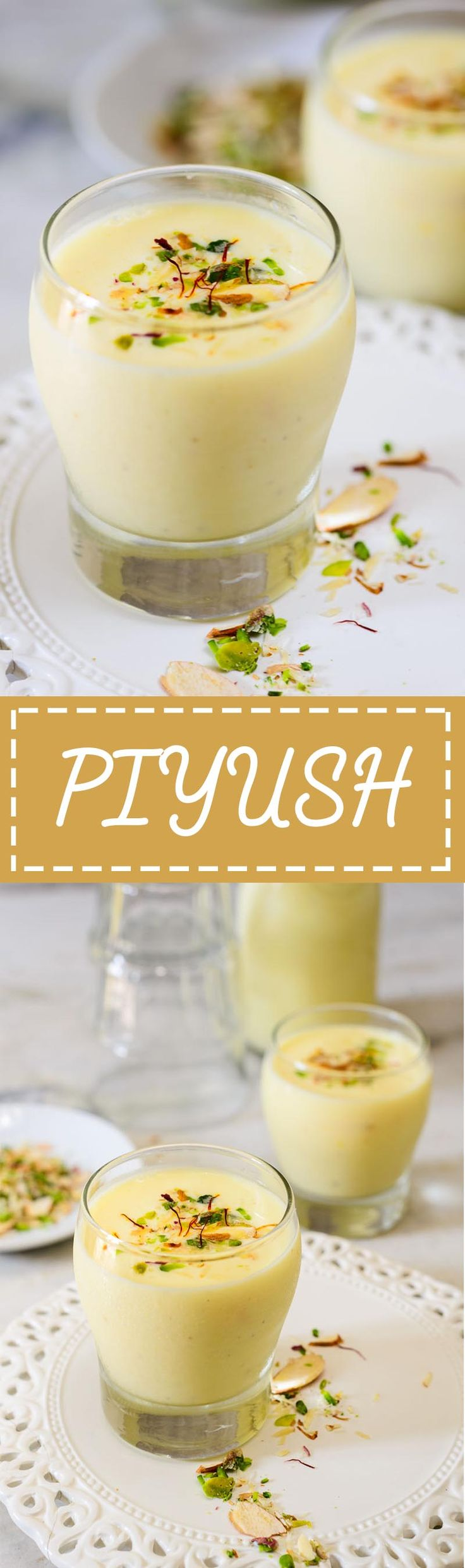 Piyush is a creamy smooth beverage made with shrikhand, popular in Maharashtrian and Gujarati cuisine. Read its recipe, hurry!