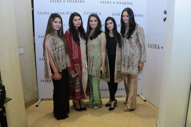 Saira Shakira holds an exclusive preview of their bridal collection Zohra