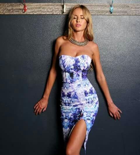 No strapps, Galaxy pattern, Short Dress