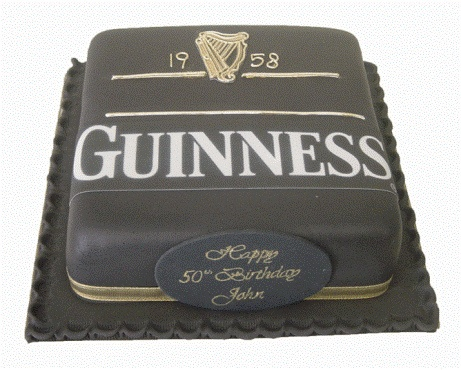 Guiness Cake by Need A Cake, via Flickr