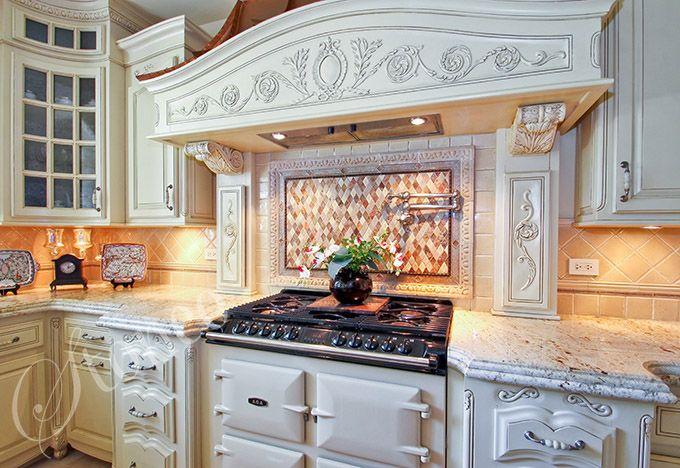 Kuchnia z granitowymi blatami