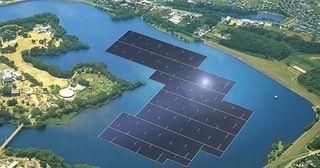 "Japan is building the World's largest floating solar power plant - ""The 13.7 megawatt (MW) floating solar power plant will be built on the Yamakura Dam reservoir."" : Futurology"