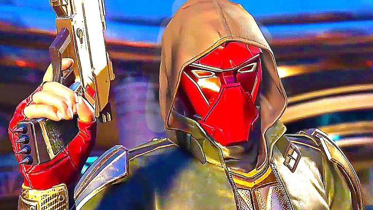 INJUSTICE 2 RED HOOD Gameplay & Intro Dialogues (PS4 / Xbox One)