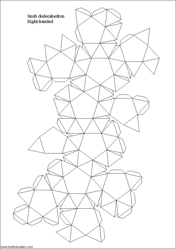 The 25 Best Dodecahedron Template Ideas On Pinterest 3d