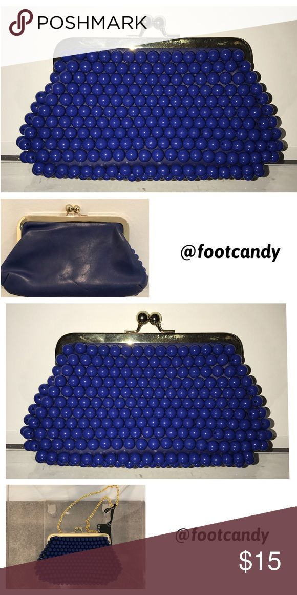 | nwt | Blue Clutch | nwt | Blue Clutch Bags Clutches & Wristlets
