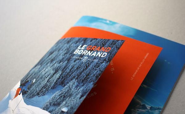 Le Grand Bornand on Behance