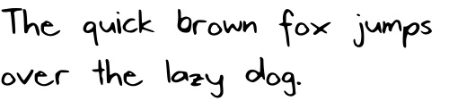 Handwriting font creator:  Awesome! You can create your handwriting for free!