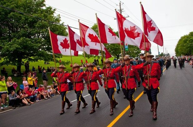 Royal Canadian Mounted Police (RCMP) Canada Day Parade