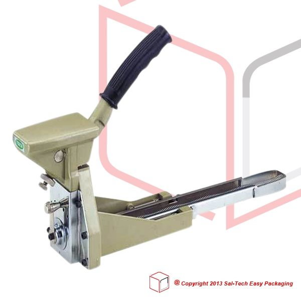 The STEP ST105 Manual Stapler fastens boxes promoting neatness and safety. Reducing the cost of labor as well as material, this is suitable for cultivating both productivity and a swifter operation. Sealing boxes with a staple size of 35mm (W) x 18mm (H), guaranteed as the simplest way to make secure products won't be damaged upon distribution. #ManualCarboardBoxStapler #ManualStapler #SalTechEasyPackaging  Inquire now: Call +45 7027 2220 Skype: easy.packaging Email: support@sal-tech.com