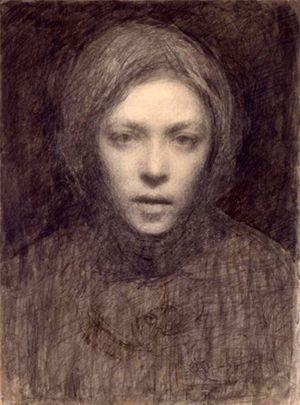 Ellen Thesleff self portrait 1899
