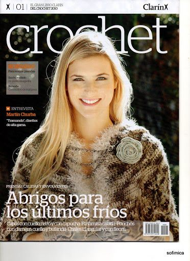 CLARIN CROCHET 2010 Nº1 - Daniela Muchut - Picasa Web Albums