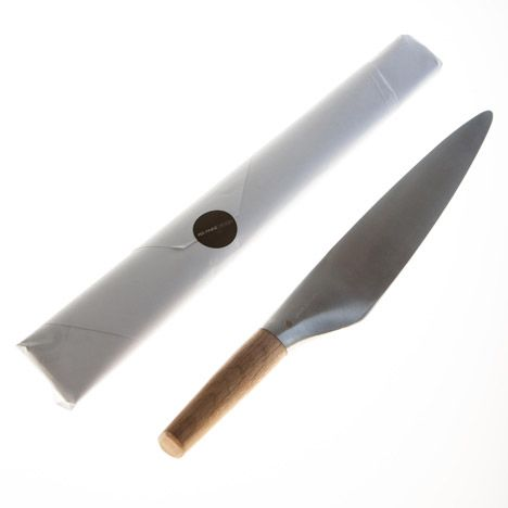 Norwegian designer Per Finne has created a utensil based on traditional Japanese knives but with a contemporary Norwegian aesthetic