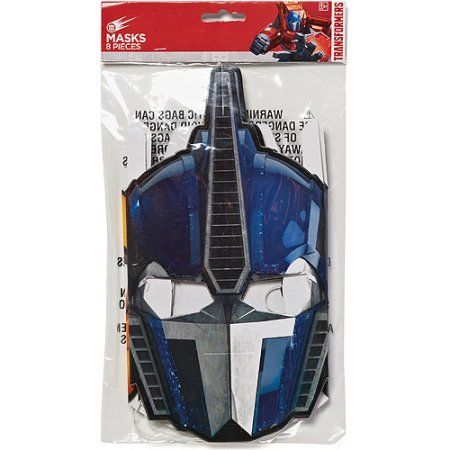 Transformers Party Masks, 8 Count, Party Supplies - Walmart.com