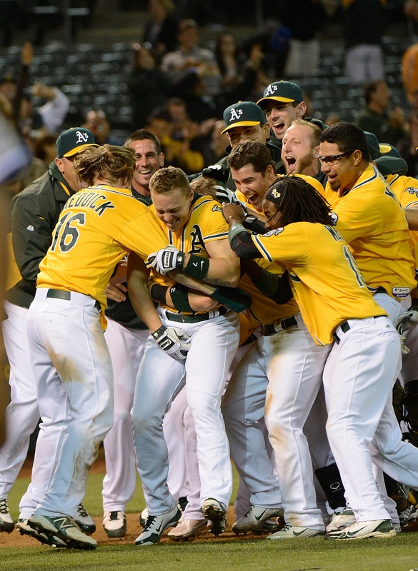 Oakland Athletics clinch the ALWest 10.3.2012 This season has been better than any movie.