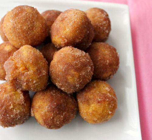 pumpkin donut puffs | soni's food