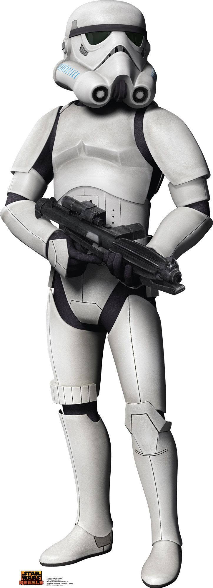 Star Wars Rebels Stormtrooper Cardboard Standup | Wayfair