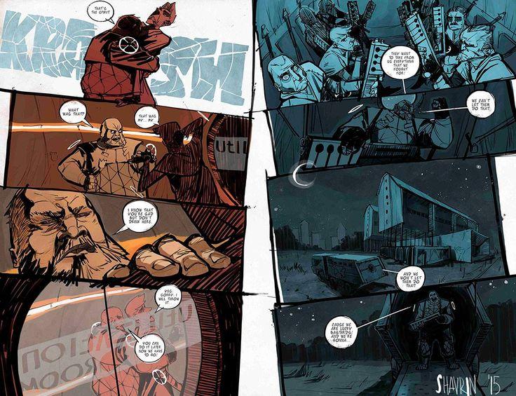 "pages from the comic ""Unlucky"".The script - Bartosz Sztibor. Artist -  Shavrin Ivan. https://www.facebook.com/shavrinart"