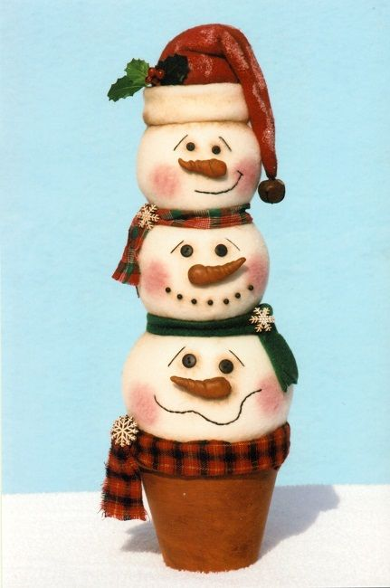 *SNOWMEN ~ Happy Heart Patterns new patterns