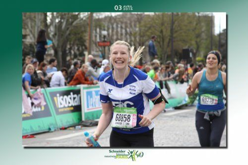 French Running and Jogging Vocabulary + Le Marathon de Paris - Bilingual Story