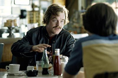 """""""You'll meet them all again on their long journey to the middle."""" Philip Seymour Hoffman as Lester Bangs in Almost Famous"""