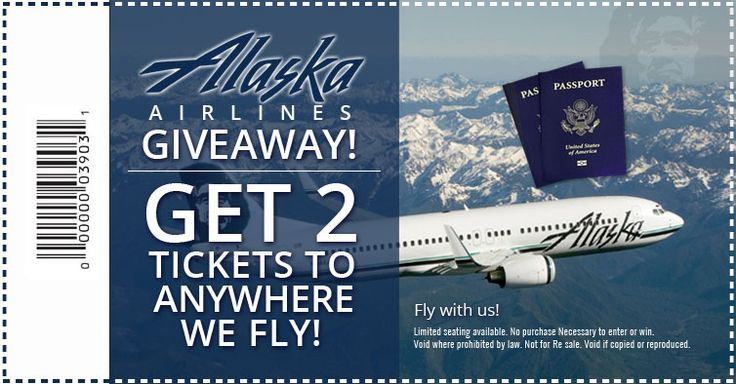 Alaska Airlines is giving away tickets to celebrate their merger with Virgin Airlines@comfortstreiff