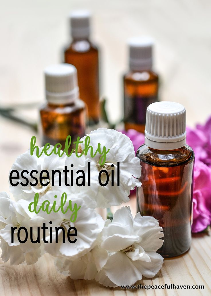 A healthy essential oil routine will  bring peace and enhance other elements of a healthy lifestyle.