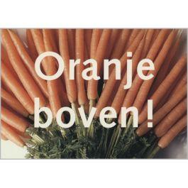 Ansichtkaart Paul Baars: Oranje boven! (wortels)   Muller wenskaarten