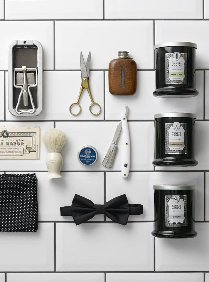 BARBERSHOP en ny doftkollektion för den moderna mannen från Yankee Candle. #YankeeCandle #Barbershop